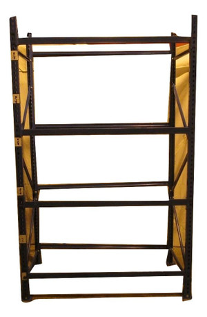 Blue Generic 4 Shelf Racking (AFF-5A8-4E7)