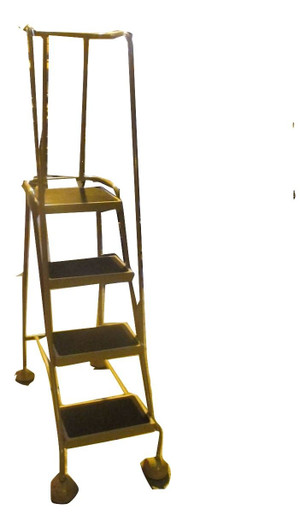 Ronco Metal Portable Ladder (D38-285-9AB)