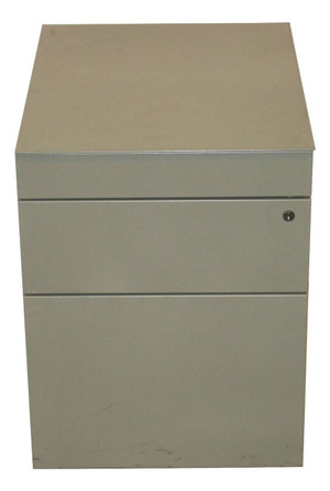Metal Three Drawer Pedestal (FB4-9EF-534)