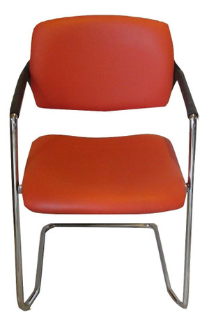 OCEE Design Red/Orange Stackable Chair (C21-A09-86C)