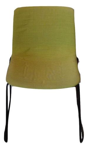 Fredericia Pato Stackable Green Chair (C48-E70-8C0)