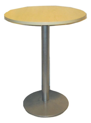 Tall Wooden Round Table (96C-A89-97A)