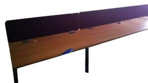 Maple Pod of 6 Desks (74B-E17-7B8)