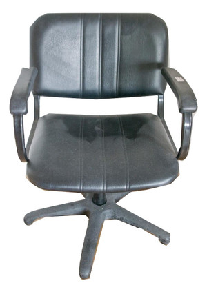 Black Hairdressing Chair with Arms (RAS722)