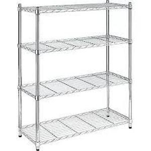 Chrome 4 Shelf Unit (D5A-007-45B)