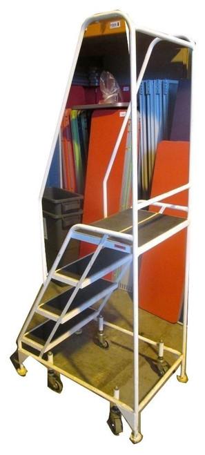 Key 3 Step Grey Ladder (C1E-24A-1F5)