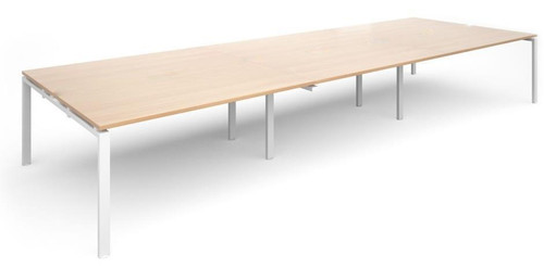 Generic Bank of 6 Beech Desks (926-542-A01)
