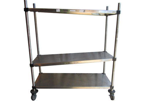 Metro Stainless Steel Trolley (03B-BFB-97A)