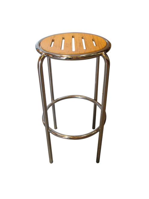 Generic Wood and Metal Bar Stool (746-349-0A5)