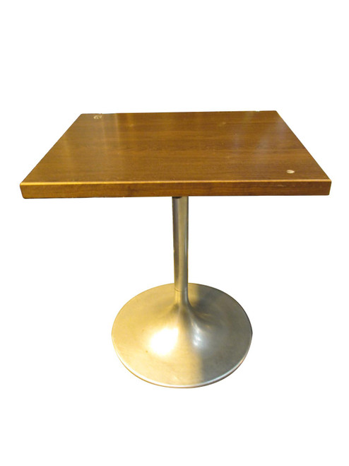 Benchmark Walnut Effect Square Table (4F9-678-BBC)