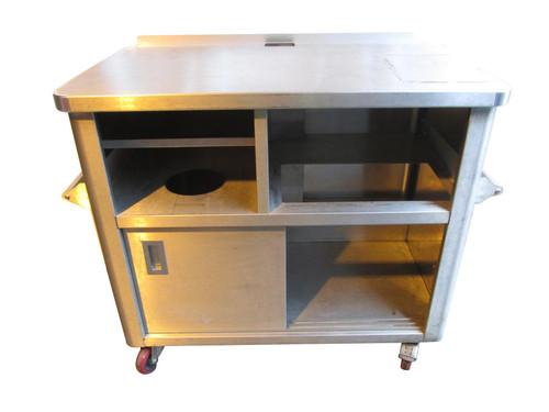 Generic Metal Kitchen Worktop Unit (8A0-F11-CB8)