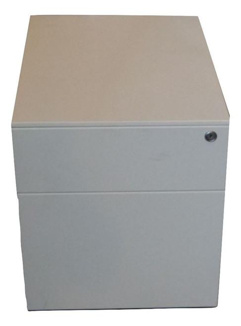 Herman Miller White Matte Metal Pedestal (HM2-STDMATT)