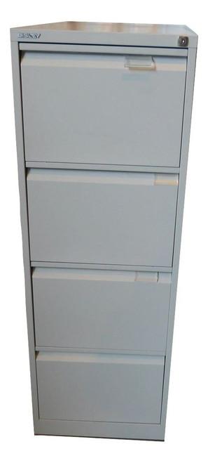 Bisley 4 Drawer Filing Cabinet (750-06F-6B5)