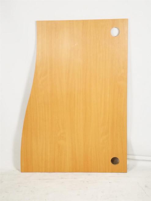 Oak 1400 Curved Right Hand Desktops (8BB-F8A-C16)