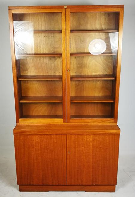 Antique Glass Storage Unit (A74-B97-110)