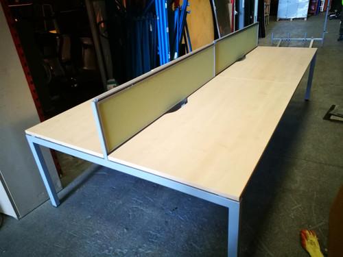 Triumph 4-Desk Bench System (7E7-033-C0A)