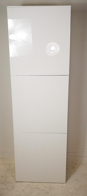 White Wood Storage Unit with Whiteboard Doors (974-D60-42A)