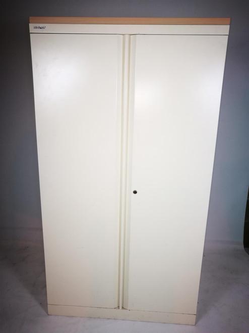 Bisley White Metal Cabinet (8BA-1BC-43B)