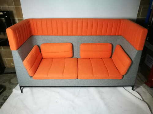 Allermuir Haven Two Seat Sofa Orange & Grey (8D5-B49-58B)