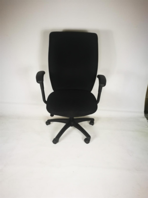 High Back Black Operator Chair (454-DF8-00C)