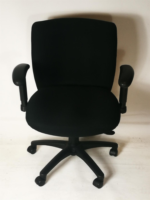 Low Back Black Operator Chair (BF9-44A-AE8)