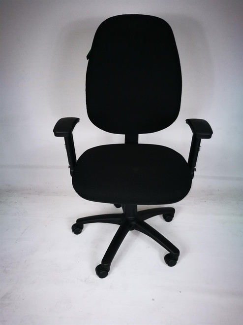 OCEE Design Black Operator Chair (3BC-5BF-13F)