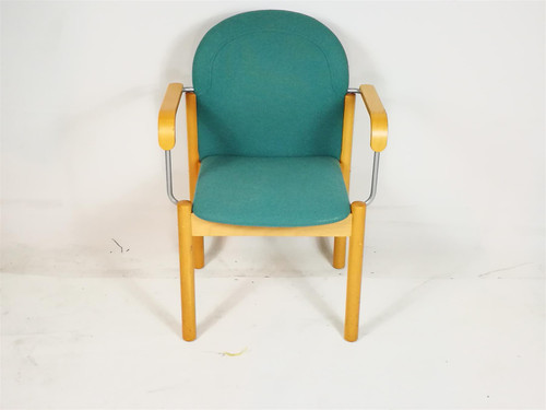 Kinnarps Teal Stackable Conference Chair (19B-B60-4A2)