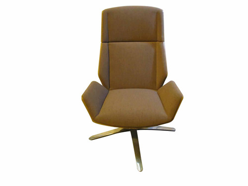 Boss Designs Brown Kruze Lounge Chair (3D0-3ED-C0D)