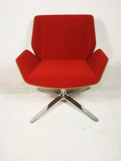 Boss Designs Orange Kruze Fabric Tub Chair (FE1-E50-239)