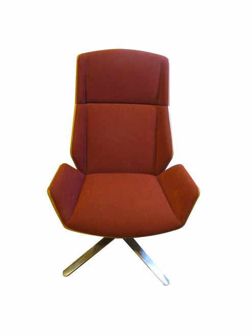 Boss Designs Red Kruze Lounge Chair (576-1AE-033)