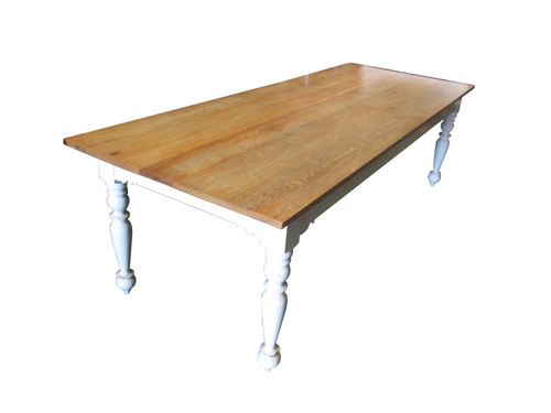 Large Solid Wood Restaurant Table (0A9-424-174)