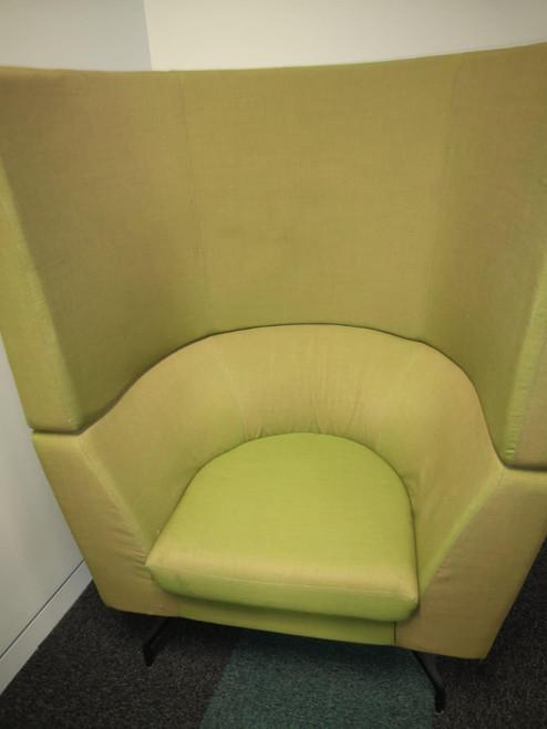 Orangebox CWTCH-01HB Large Green Tub Chair (D20-7BA-44D)