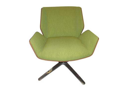 Boss Designs Dark Green Kruze Fabric Tub Chair (92C-0E4-D8D)