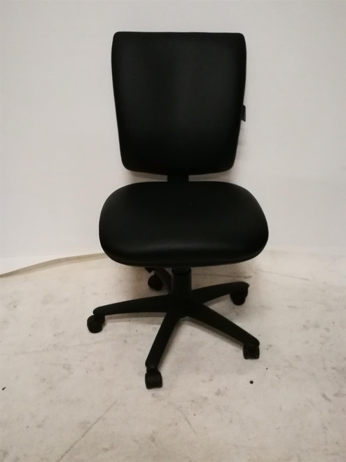 Summit Black Leather Operator Chair (459-55C-89A)