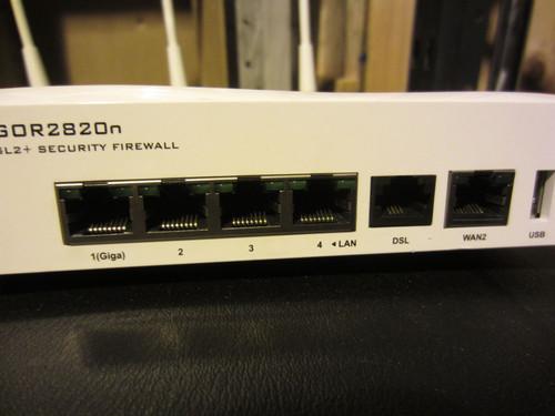 Draytek Vigor 2820N Router (724-285-76D)