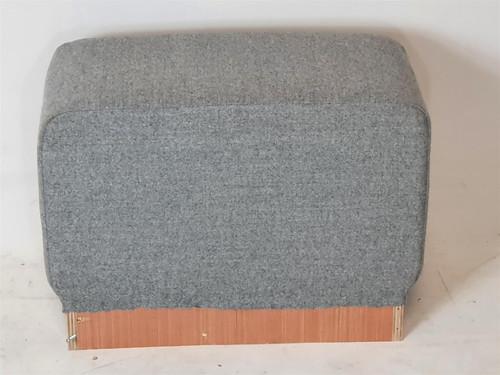 Grey Fabric Sofa Unit Infill Piece (A83-30B-BF9)