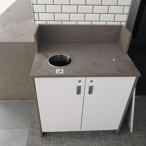 Lockable Marble Waste Cupboard (8B4-B17-9FF)