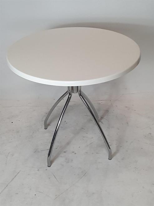 Werzalit White Round Table (3D9-330-699)