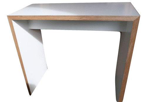 White Tall Wooden Table (250-176-43D)