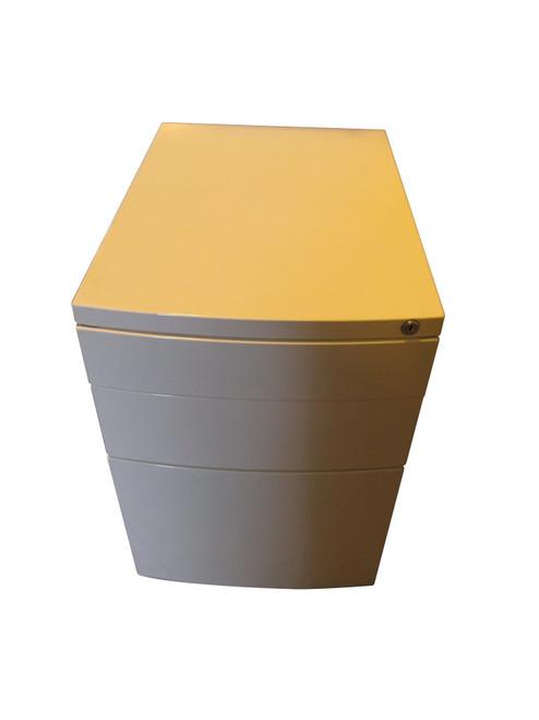White 3 Drawer Pedestal (LPOR1716)