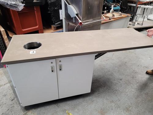 Twin Kitchen Cupboard with Worktop (407-BEB-2FC)
