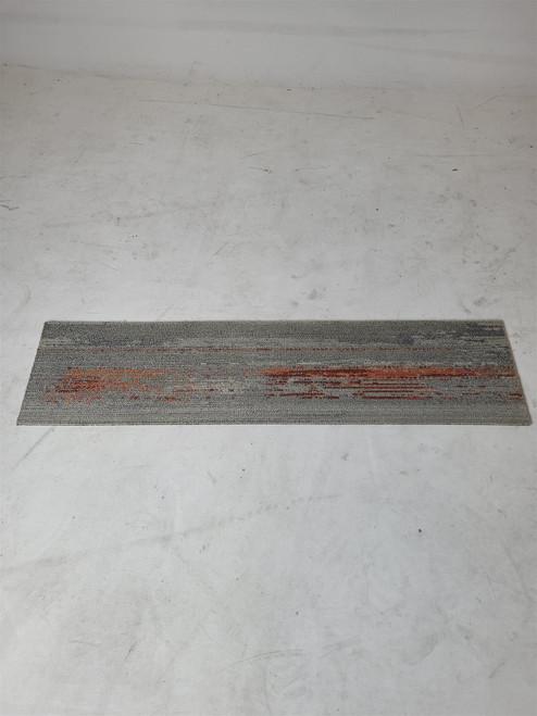 Milliken Grey/Orange Carpet Tile (36E-228-C22)