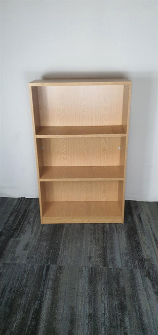 Pine 3 Shelf Bookcase (18F-D85-EC8)