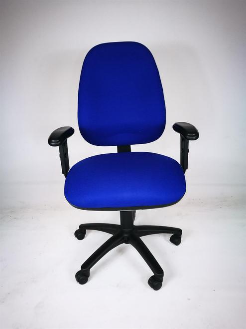 Blue Operator Chair (122-3C0-01A)