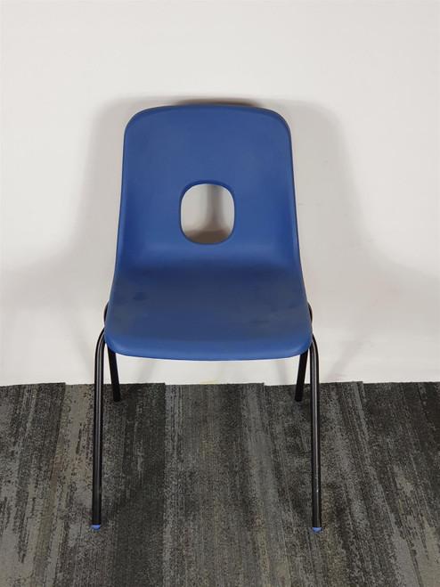 Blue Plastic School Chair (LPOR-1745-20210902204436)