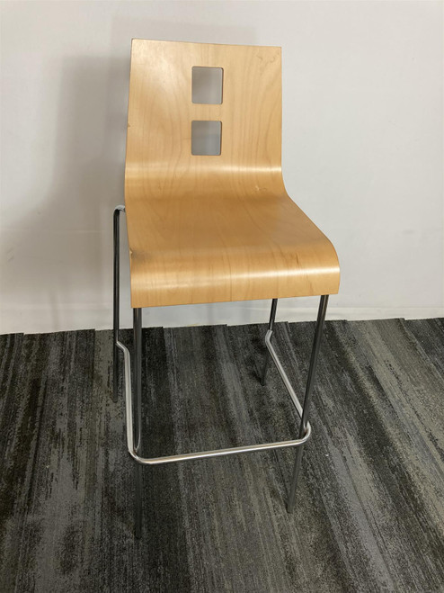 Square Wooden Stools (FB1-CAF-FF6)