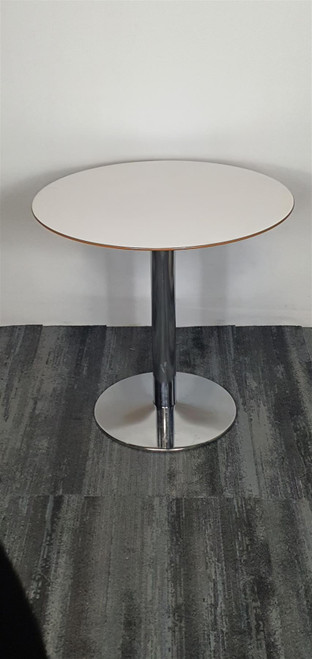 Round White Meeting Table (AF9-EC9-44A)