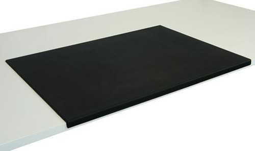 Lesco UK Black Rubber Desk Mat (B3C-10A-F12)