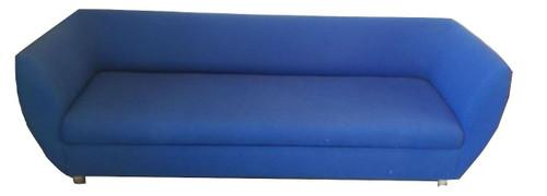 Large Blue Fabric Sofa (B22-955-E4F)
