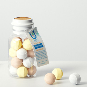 Formula N°6. Mini Bath Bombs x15 (Plastic Reagent Bottle)
